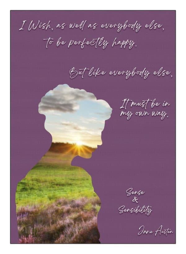 Sense And Sensibility Art Print