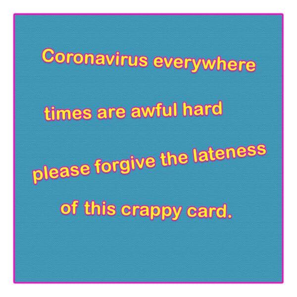 Coronavirus Everywhere