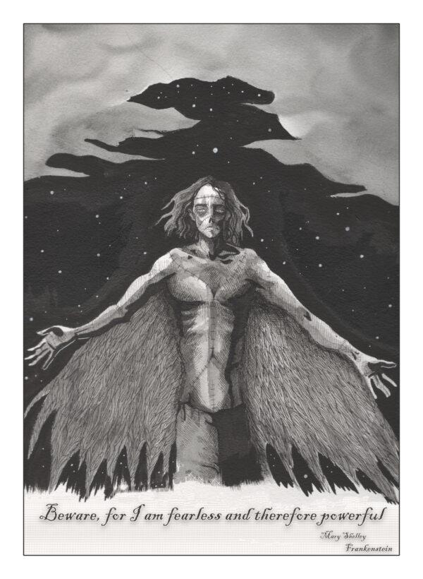 Frankenstein Art Print