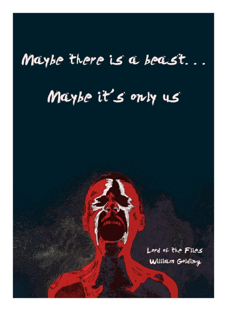 Lord of the Flies Print Front