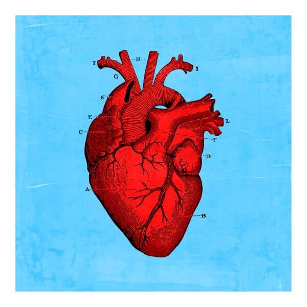 Pumping Heart Card