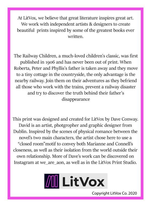 The Railway Children Print Back