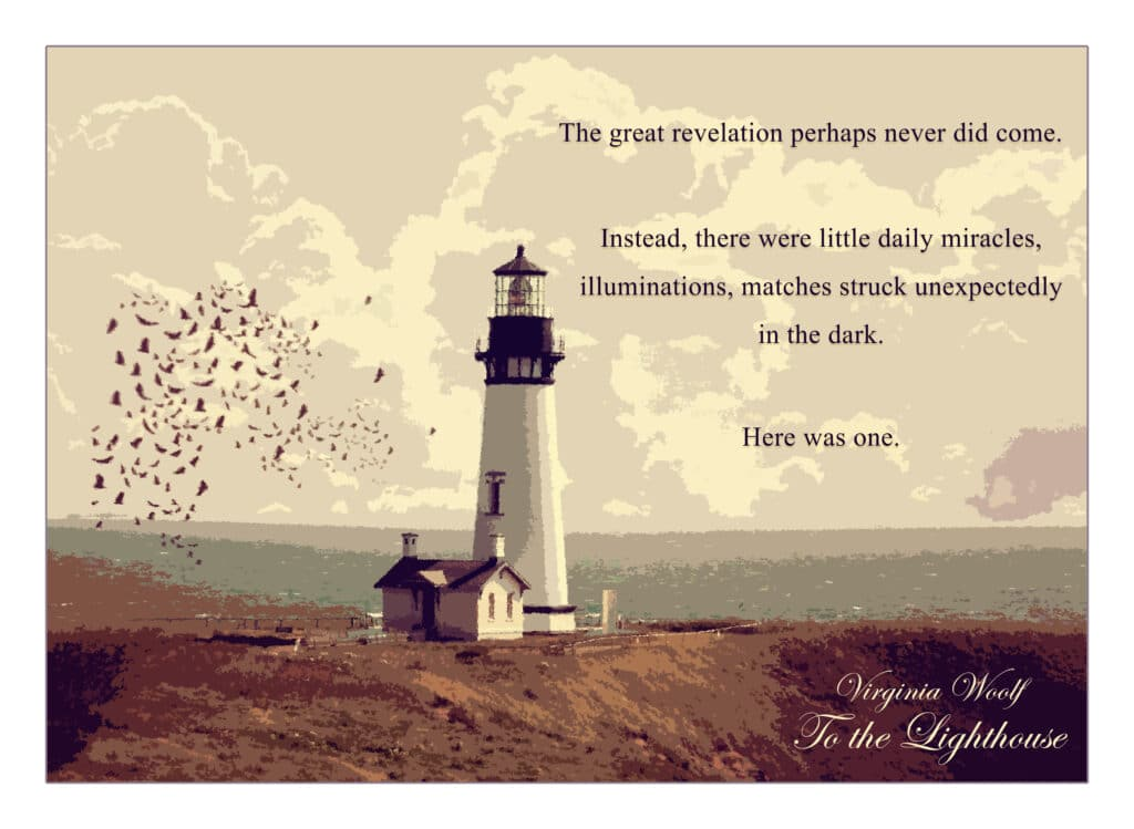 To the Lighthouse Print Front