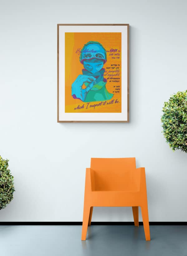 Trainspotting Art Print Lifestyle Shot 2