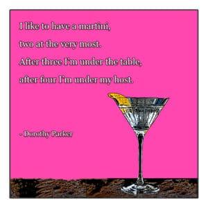 I Like to Have A Martini