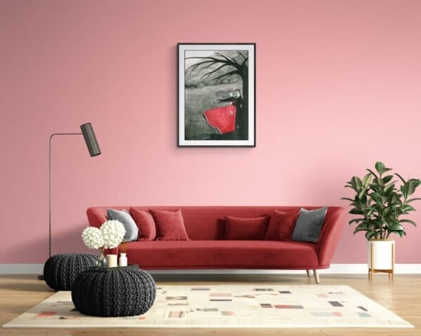 Wuthering Heights Art Print Lifestyle Shot 2