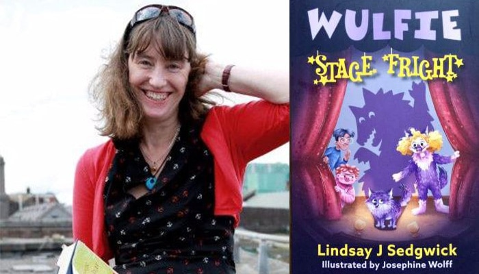 Review: Wulfie - Stage Fright by Lindsay Sedgwick; illustrated by Josephine Wolff Here