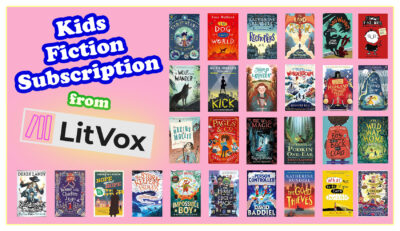 Kids Book Subscriptions - LitVox Kids Fiction Subscription