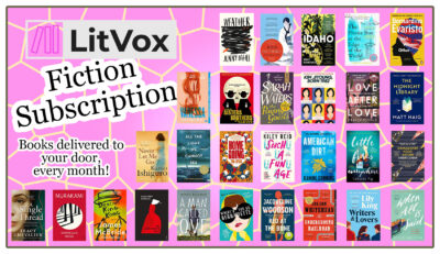 Book Subscriptions - LitVox Fiction Subscription Second Image