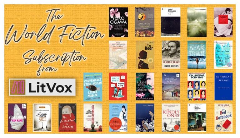 Fiction in Translation - LitVox World Literature Subscription