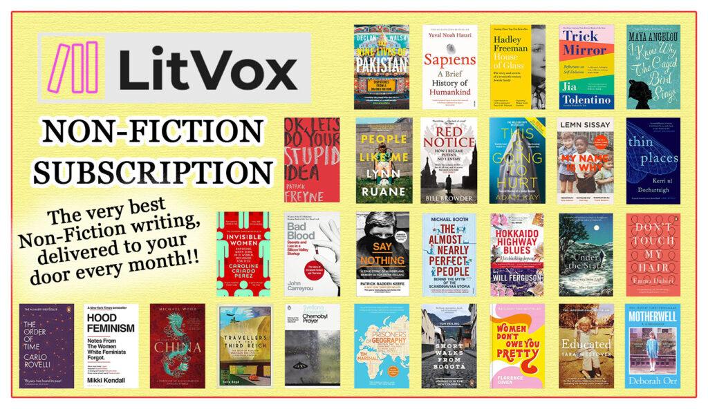 Non-Fiction Books- Book Subscriptions - LitVox Non-Fiction Subscription