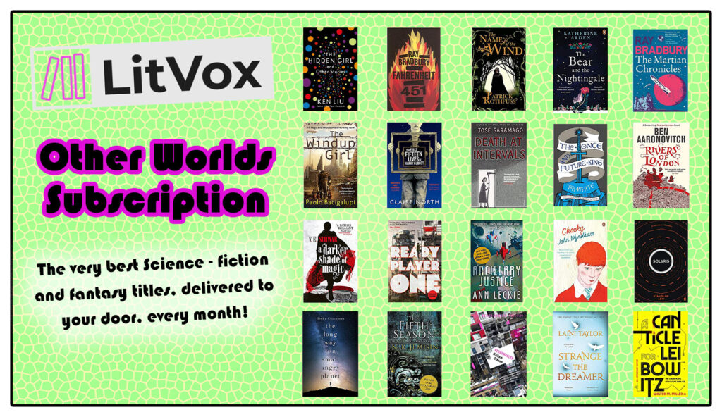 Book Subscriptions - LitVox Other Worlds Subscription