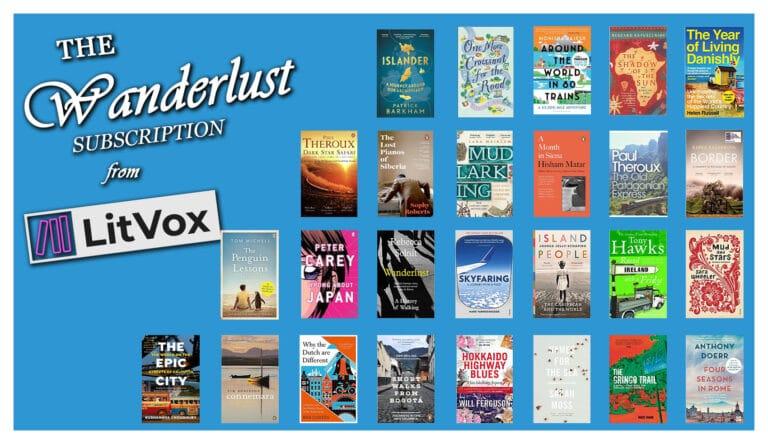 Book Subscriptions - LitVox Wanderlust Subscription