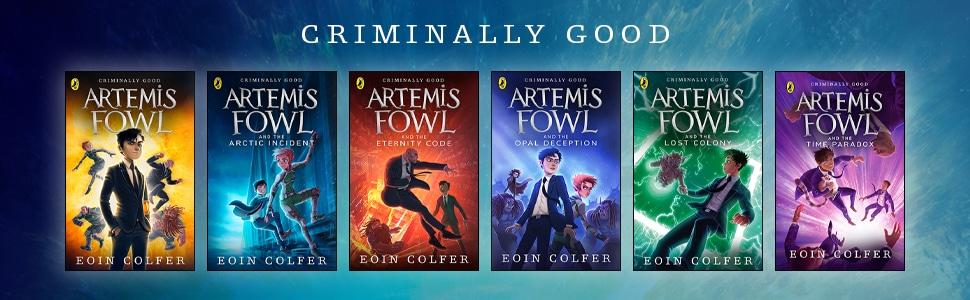 Children's Fiction, Ages 9-12- Artemis Fowl Banner