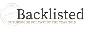 The Very Best Books Podcasts - Backlisted Logo