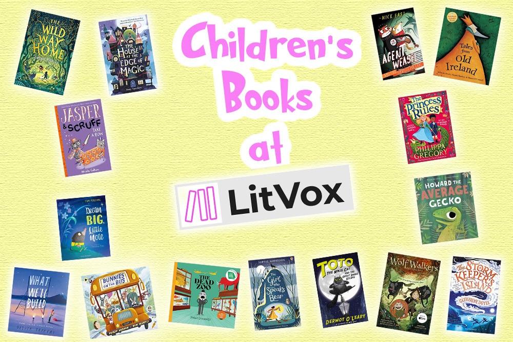 LitVox Home - Mobile Slider Children's Books