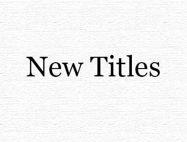 Bookshop Homepage New Titles