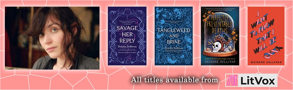 Review: Savage Her Reply by Deirdre Sullivan - Banner Image