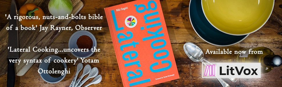 Cookery Books - Lateral Cooking Banner