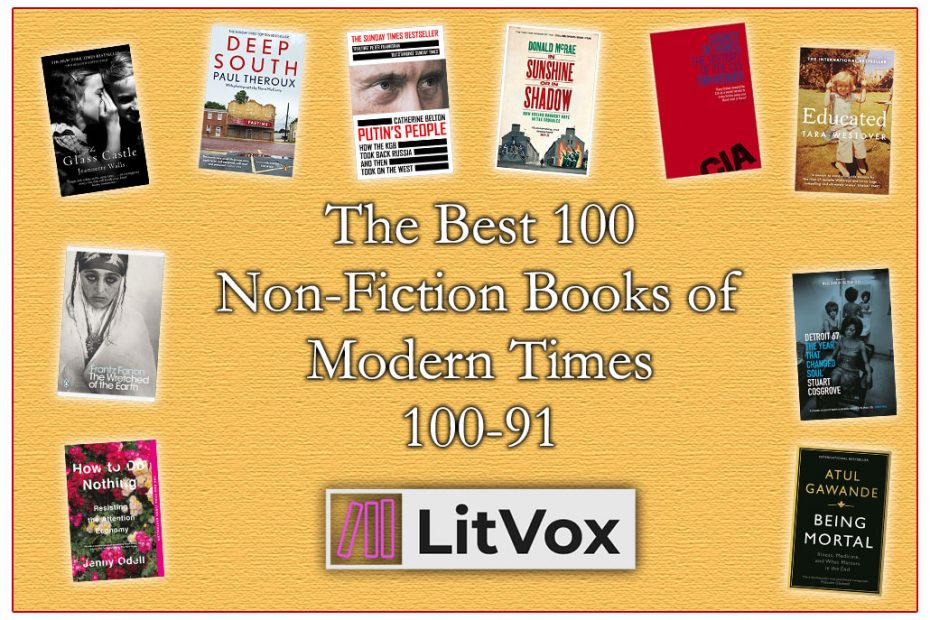 The Best 100 Non-Fiction Books of Modern Times (No's) 100-91